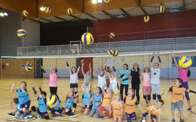 Volleyball U11 Entraînements