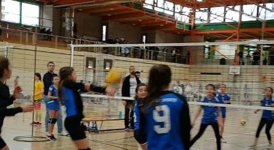 Volleyball U13 Entraînements