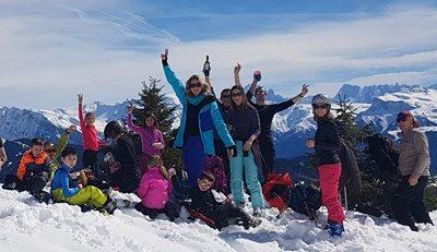Sortie de ski en famille – samedi 15 février 2020 – station Contamines-Hauteluce