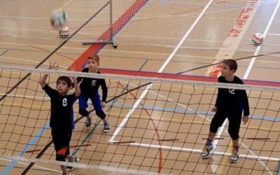 Volleyball U11 Entraînements