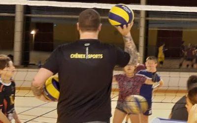 Reprise des entraînements Volleyball – vendredi 18 septembre 2020