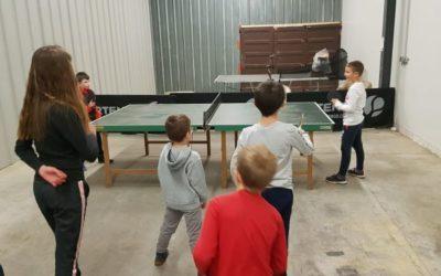 Reprise des entraînements Tennis de table – samedi 12 septembre 2020